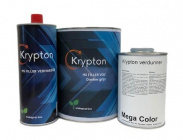 MC Krypton Set Filler 4+1 donkergrijs +Krypton 2K verdunner