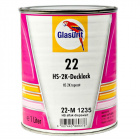 Glasurit aflak diepzwart 22-1235  1 ltr.