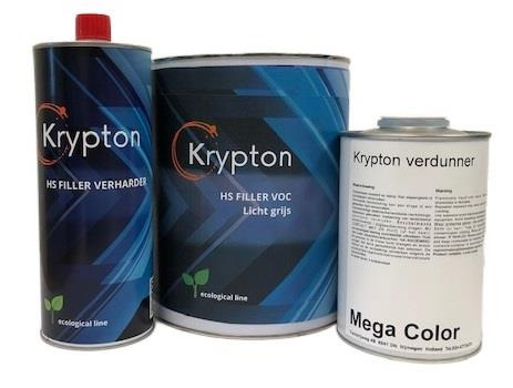 MC Krypton Set Filler lichtgrijs + Krypton verdunner